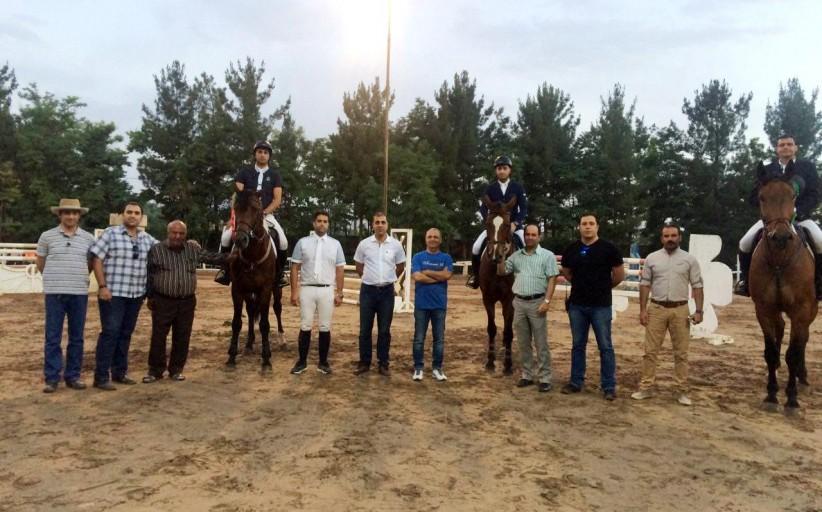 نتایج پنجمین مسابقه پرش با اسب هیأت سوارکاری استان اصفهان در سال 95