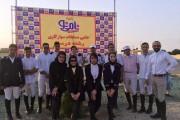 نتایج سومین مسابقه درساژ هیأت سوارکاری استان اصفهان در سال 95