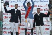 خوش درخشیدن اصفهانیها در مسابقات پرش با اسب جام نقش جهان 95