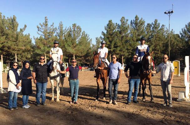 نتایج دهمین مسابقه پرش با اسب هیأت سوارکاری استان اصفهان در سال 95