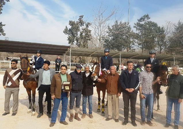 کسب مقام دوم مسابقات زیر شانزده سال اسب ایرانی توسط آقای سامان رحمتی