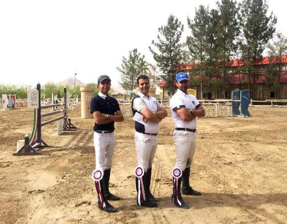 نتایج اولین مسابقه پرش با اسب هیأت سوارکاری استان اصفهان در سال 96