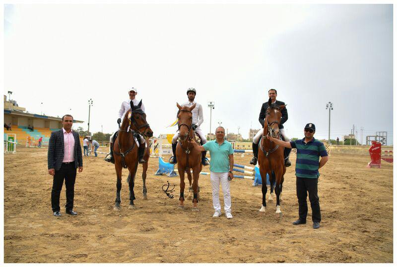 نتایج دومین مسابقه پرش با اسب هیأت سوارکاری استان اصفهان در سال 96