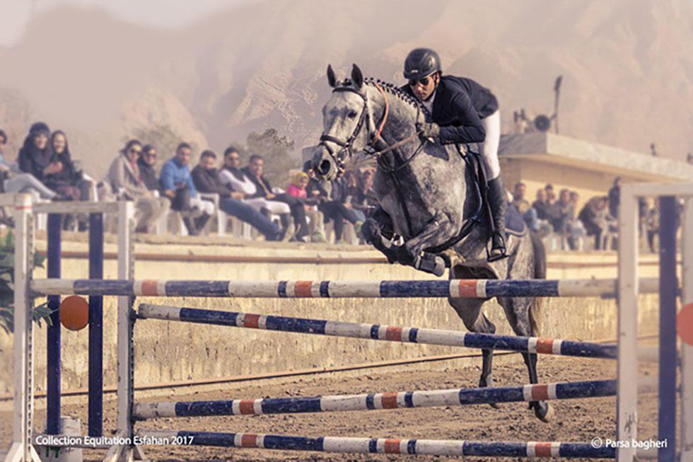 نتایج چهارمین مسابقه پرش با اسب هیأت سوارکاری استان اصفهان در سال 96