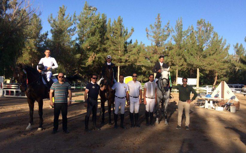 نتایج هفتمین مسابقه پرش با اسب هیأت سوارکاری استان اصفهان در سال ۹۶