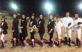 نتایج هشتمین مسابقه پرش با اسب هیأت سوارکاری استان اصفهان در سال ۹۶