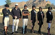 نتایج دومین مسابقه درساژ هیأت سوارکاری استان اصفهان در سال ۹۶