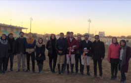 نتایج پانزدهمین مسابقه پرش با اسب هیأت سوارکاری استان اصفهان در سال ۹۶