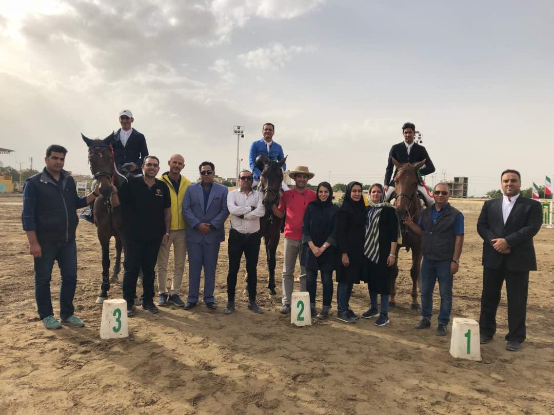 نتایج سومین مسابقه پرش با اسب هیأت سوارکاری استان اصفهان در سال ۹۷