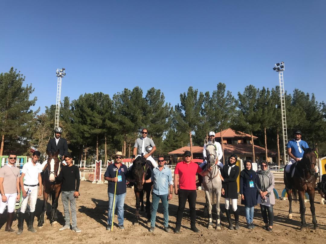 نتایج چهاردهمین مسابقه پرش با اسب هیات سوارکاری استان اصفهان در سال ۹۷