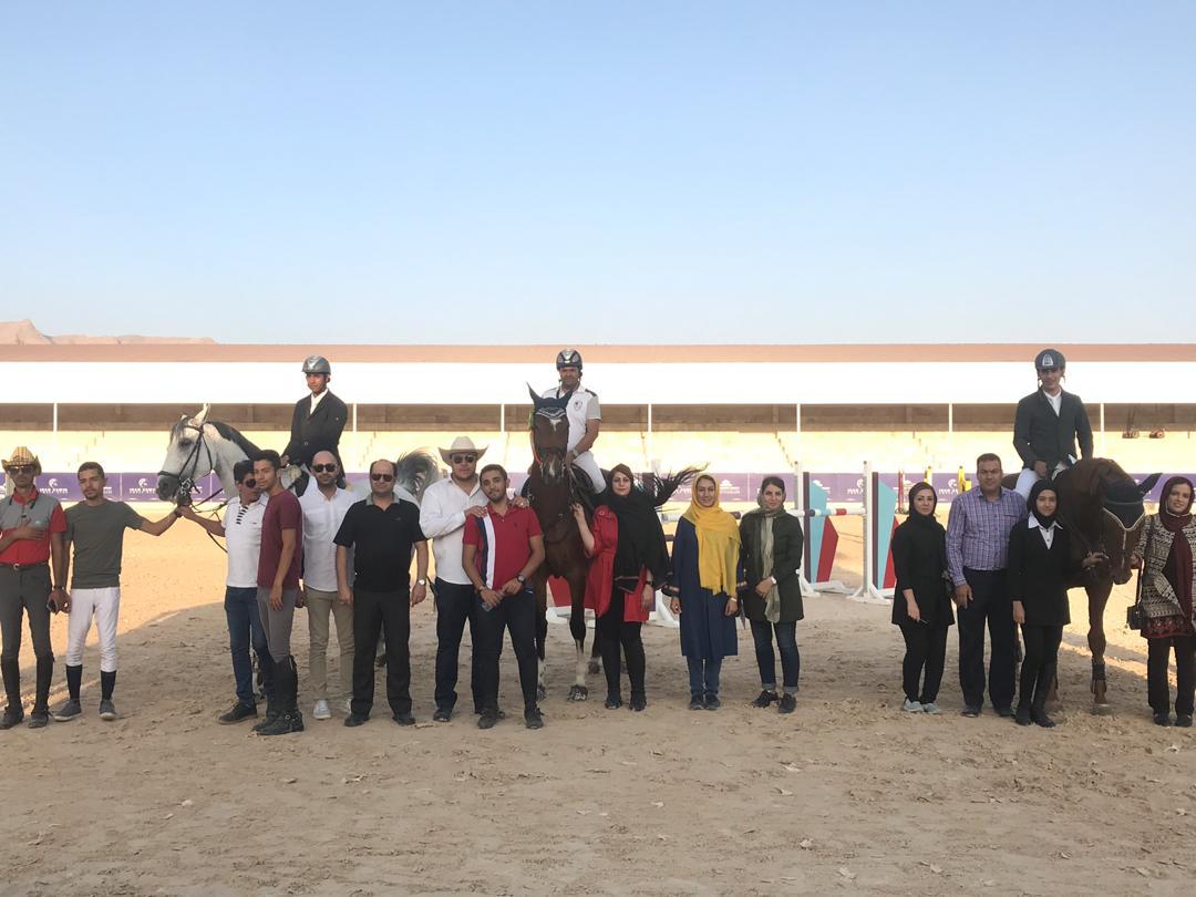 نتایج پانزدهمین مسابقه پرش با اسب هیات سوارکاری استان اصفهان در سال ۹۷
