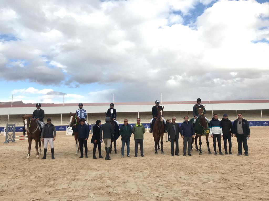 نتایج بیست و پنجمین مسابقه پرش با اسب هیات سوارکاری استان اصفهان در سال ۱۳۹۷